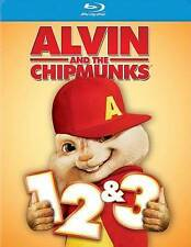 Alvin and the Chipmunks 1, 2 & 3 (Blu-ray Disc, 2014, 3-Disc Set)