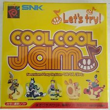 NEW SEALED COOL COOL JAM JAPANESE  IMPORT FOR NEO GEO POCKET COLOR