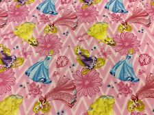 Springs Creative - Disney's Princess - 100% Cotton - Patchwork + Quilting Fabric