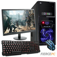 ULTRA FAST QUADCORE Desktop Gaming PC Computer Bundle 4.2GHz 8GB 1TB AMD 190732