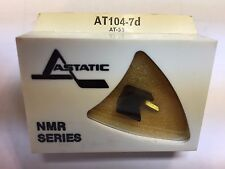 AUDIO TECHNICA AT-55 NEEDLE IN ASTATIC PKG AT104-7D, NOS/NIP