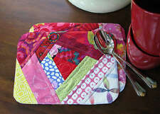 WONKY MUG RUGS PLACEMAT SEWING PATTERNS, From Cut Loose Press Patterns NEW