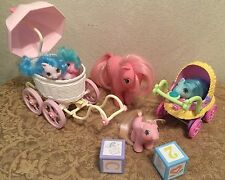 My Little Pony Newborn Twins Doodles & Noodles Teenie Giggles,Tabby Cotton Candy