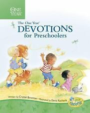 The One Year Book of Devotions for Preschoolers by Crystal Bowman (2004,...