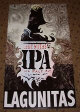 LAGUNITAS Promo Poster IPA Bottle Art craft beer brewing brewery
