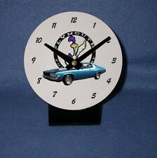 NEW  Plymouth Roadrunner Desk Clock!! (12 to choose from)