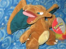Pokemon Charizard Plush Doll 1999 Play by Play Nintendo Next Day USA Shipping