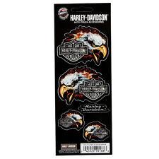 Biker Harley Davidson HD Eagle Adler Logo US Emblem Aufkleber Decal Sticker Neu
