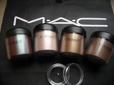 Mac cosmetics Pigment- Samples-Set , 4 Stück a 0,4 Gr. inkl. LE`s, WARM-SHADES