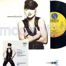 "MADONNA ""JUSTIFY MY LOVE"" RARE 45RPM GERMANY - MINT"