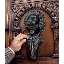 18th Century Italian Antique Replica Lion Iron Door Knocker