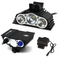 New SolarStorm 12000LM 3 x CREE XM-L T6 LED Bicycle Lamp Outdoor Headlight Kit R