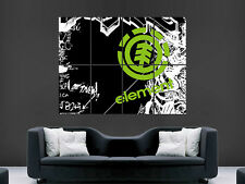 ELEMENT SKATE  ABSTRACT IMAGE ART LARGE WALL  POSTER  PRINT