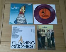 """RARE Fruits De Mer 7"""" The Flaming Gnomes Care Of Cell 44 With Inserts Psych Pop"""