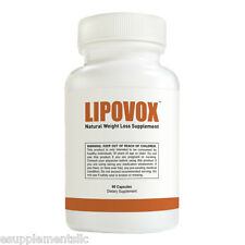 LIPOVOX - Weight Loss Diet Pill - Antioxidant Metabolism Boost