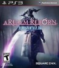 Final Fantasy XIV 14 A Realm Reborn REPLACEMENT DISC (Sony Playstation 3) PS PS3