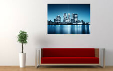 CITY NIGHT SKYLINE NEW GIANT LARGE ART PRINT POSTER PICTURE WALL