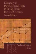 Directory of Psychological Tests in the Sport and Exercise Sciences by