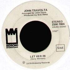 JOHN TRAVOLTA - Let Her In / Big Trouble - Midsong