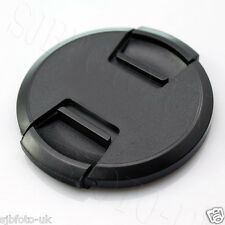 49 MM GENERIC SONY CENTRE-PINCH CLIP-ON FRONT LENS CAP COVER FOR FUJIFILM SONY