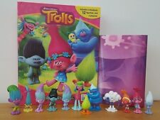 NEW OUT DREAMWORKS TROLLS MY BUSY BOOKS WITH 12 CHARACTER FIGURES+ PLAYMAT BNIB