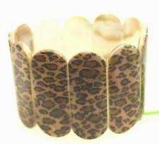 2015 fashionable real pearl shells Leopard grain bracelet  Stretch Comfort B48