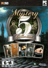 MYSTERY 5 COLLECTION - 5x Sherlock Holmes & Dracula Adventure Mystery Games NEW!