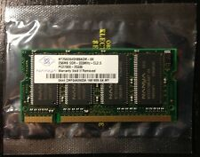 Nanya 256 MB DDR333 Mhz PC2700 SO-DIMM - NT256D64SH8BAGM-6K