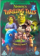 SHREK'S THRILLING TALES DVD + SHREK THRILLER PARODY HORROR New Sealed UK Release