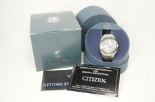Citizen Eco-Drive Bm6010-55A Stainless Steel Wrist Watch Water Resist