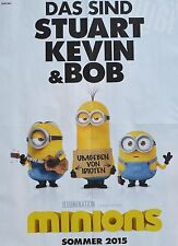 MINIONS - A2 Poster (XL - 42 x 55 cm) - Film Plakat Clippings Fan Sammlung NEU