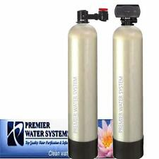 PremierSoft Water Conditioner 15 GPM SALTFREE Backwash Whole house Carbon Filter