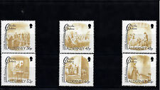 Alderney 2012 MNH Charles Dickens 200th Anniv Birth 6v Set Scenes Oliver Twist