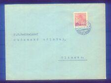 Boemia e Moravia fabbisogno lettera con Michel EF n. 66