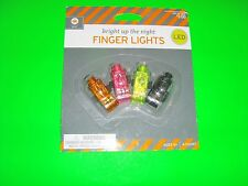 New 4 Counts Halloween Finger Lights Light up the night with 4 PK Finger Lights