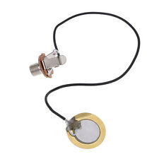 Pre-Wired Amplifier Piezo Transducer Microphone Pickup Mic Contact for Guitar