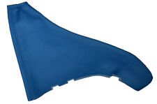 MID BLUE LEATHER FITS VAUXHALL OPEL ASTRA MK4 G HANDBRAKE GAITER CUSTOM MADE