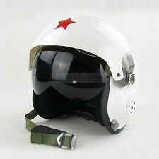 Motorcycle/Scooter helmet & Air force Jet Pilot flight helmet - White
