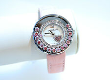 Swarovski Watch Lovely Crystal Heart Pink 5096032 Authentic Brand New In Box