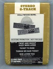The Beatles At The Hollywood Bowl 1977 Store Promotion only 8 Track Catridge NEW