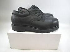 Mens IRON AGE  Composite Safety Toe Black Athletic  Leather Size 9
