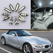 NEW Error Free White Light Interior LED Package 9x for BMW E85 Z4 2003-2008 L7