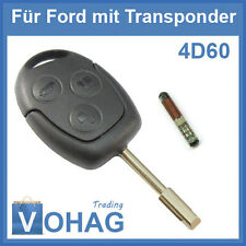 Ford clave rohling & transpondedor 3 teclas fiesta focus Fusion Mondeo 3t Puma