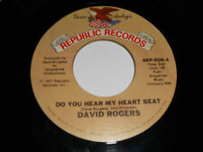 DAVID ROGERS NM-They Went Together 45 Do You Hear My Heart Beat REP-006