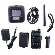 UV-5R Dual-Band Two-way Radio VHF/UHF 136-174/400-520MHz FM Ham