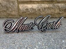 New 1981-1986 Chevy Monte Carlo Grille Emblem with Fasteners