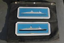 CUNARD LINE QE2 MAIDEN VOYAGE ROTHMANS CIGARETTE TIN PROTOTYPE PRINTER BOOK 1969