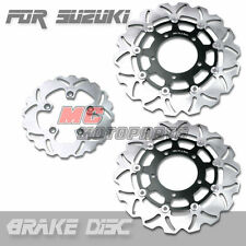Front Rear Brake Disc Suzuki GSXR 1000 05 06 07 08 2005 2006 2007 2008