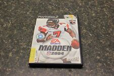 Madden NFL 2004 (Sony PlayStation 2, 2003) 105914-1 (JO) LOC.BY8D