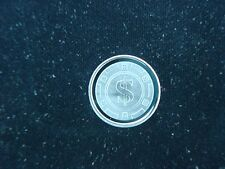Poker Chip 1 Gram .999 Silver Round Coin Bar Bullion Dollar Sign Texas Hold Em